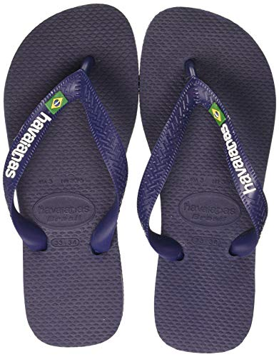 Havaianas Brasil Logo, Tongs Mixte Adulte, Multicolore...