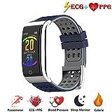 Zeerkeer ECG e Orologio da Polso cardiofrequenzimetro PPG Orologio da Fitness per attività Fisica...