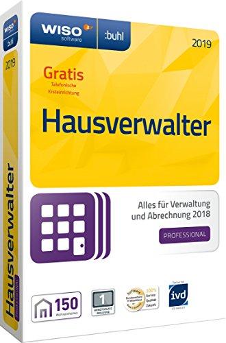 WISO Hausverwalter 2019 Professional - Die Profisoftware für alle Vermieter und Hausverwaltungen [CD-ROM]