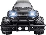 1/14 4 roues motrices électrique RC Buggy RC voiture, 2,4 GHz Radio Télécommande Off Road Truck 140m / min Monster High Speed Rock Crawler Big Feet Truck RTR voiture tout-terrain brushless voiture f