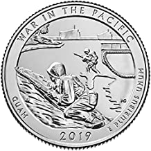 2019 D Bankroll of 40 - War in the Pacific National Historical Park, Guam Quarter Uncirculated