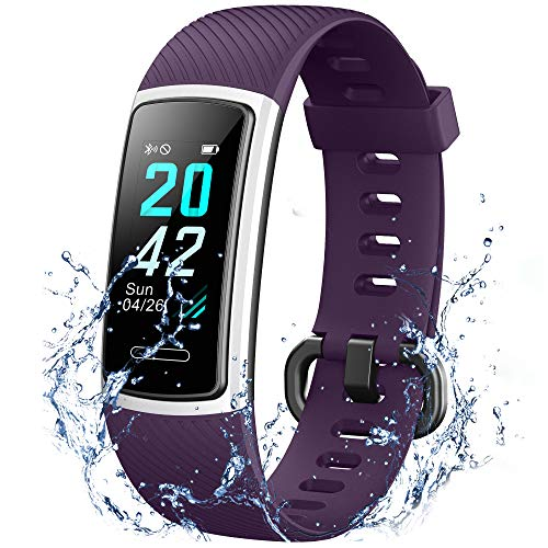 IANRTTE Advanced Fitness Trackers HR,IP68 Waterpoof Activity...