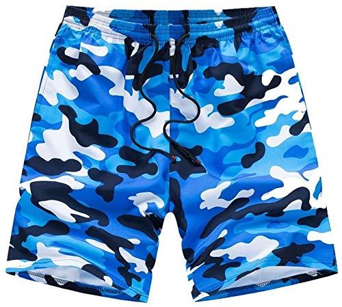 Traje de baño de moda Hombres nadar pantalones cortos troncos de natación para hombres troncos de verano de verano pantalones cortos casuales pantalones de playa de algodón deportes pantalones cortos