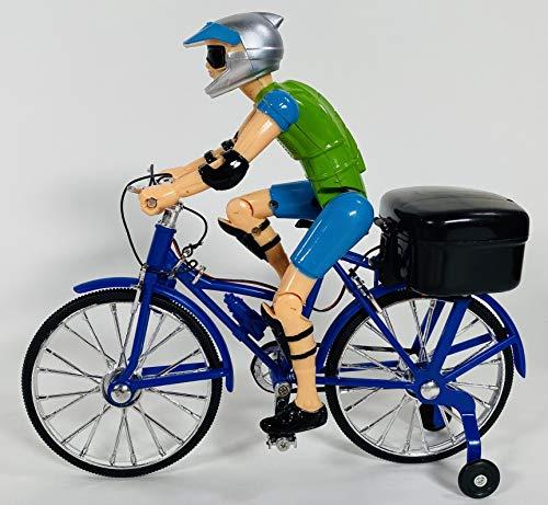 BUSDUGA Bicicleta 2834 con sonido, luz y pedaleo.
