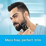 Philips BT7501/15 Cordless & Corded Vacuum Beard Trimmer (Black)