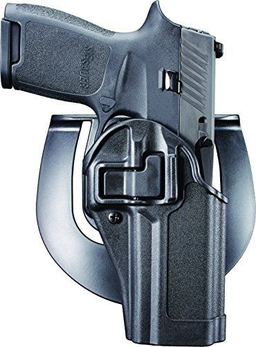 BLACKHAWK 410561BK-R Serpa CQC Concealment Holster, Right Hand, Matte Black - Fits SIG P250 & P320 (not sub-compact)