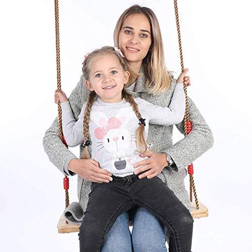 YLJYJ Trapeze Bar Childs Garden Swing Seat Swing Set en Bois Easy Install Outdoor Toys