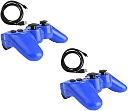 $40 » Sponsored Ad - 2x Blue Wireless Bluetooth Game Controller Pad For Sony PS3 Playstation 3