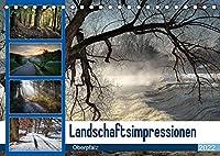 Landschaftsimpressionen Oberpfalz (Tischkalender 2022 DIN A5 quer): Die besondere Lichtstimmung begeistert den Betrachter. (Monatskalender, 14 Seiten )