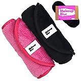 Reusable Makeup Remover Cloth 2 Towels Per Set - Gently remove mascara, exfoliate