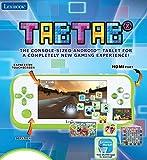 LEXIBOOK Tabtab Tablet Consola De Videojugos 5'', Camara Fotos Integrada, WiFi, Android, Contenido Educativo, Control Parental, Batería Recargable, Blanco Verde Mfc045Es