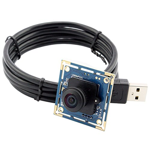 ELP USB Camera Module 8 megapixel with 180 Fisheye Lens for Machine Vision