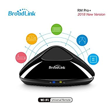 WiFi Smart Home Hub Broadlink RM Pro+ IR RF All in One Automation Learning Universal Remote Control Compatible for IOS/Android