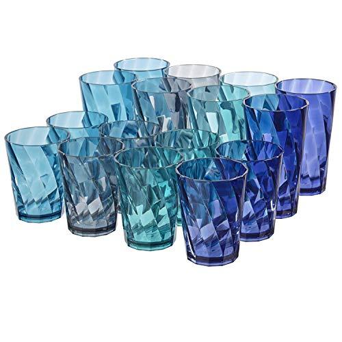 Optix 20ounce Plastic Tumblers and Optix 14ounce Plastic Tumblers | Coastal Colors