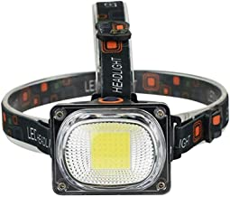 Koplamp zaklamp, koplamp met rood licht, waterbestendigheid, verstelbaar voor en volwassenen, perfecte hoofdlamp voor hard...