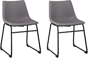 Signature Design by Ashley Centiar Dining Room Chair, Gray
