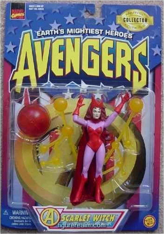 Toybiz Scarlet Witch Marvel Comics Avengers Action Figure