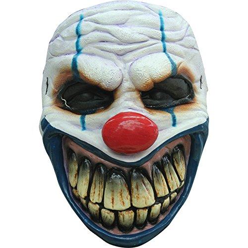 Générique - Mahal649 - Masque Clown Redoutable en Latex Adulte - Taille Unique