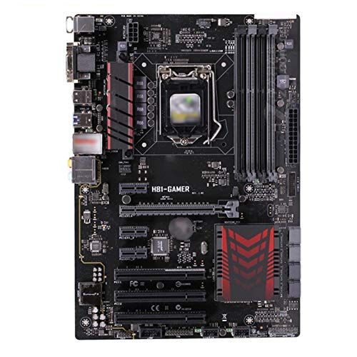lilili Ajuste para Fit For ASUS H81-Gamer Placa Base LGA 1150 DDR3 16GB PCI-E 2.0 Core I7 / I5 / I3 Original Desktop Fit For ASUS H81-GAMER PLATABONE 1150 Placa Base