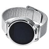 Silver White Tracker Activité Avec Smartwatch , Liste D'Appels Fitness Wrist Watch For Kid , Rappel De La Vie Sédentaire / Surveillance Du Sommeil Montre Cardiofréquencemètre
