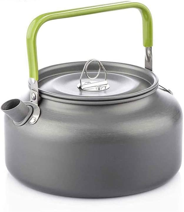 UXZDX Camping Kettle 1.2L Sales results No. 1 Capacity Outdoor Water Teapot Boiling Nashville-Davidson Mall