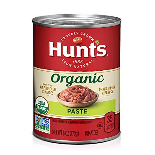 Hunt's Organic Tomato Paste, Keto Friendly, 6 oz