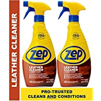 2-Pack Zep Leather Cleaner and Conditioner