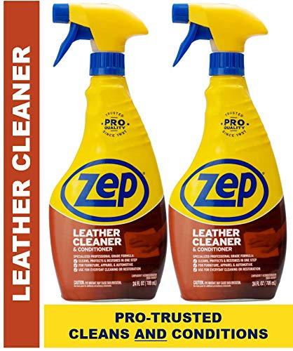 Zep Leather Cleaner and Conditioner ZUCLC24 (Pack of 2)