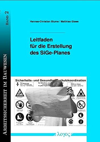 Leitfaden für die Erstellung des SiGe-Planes