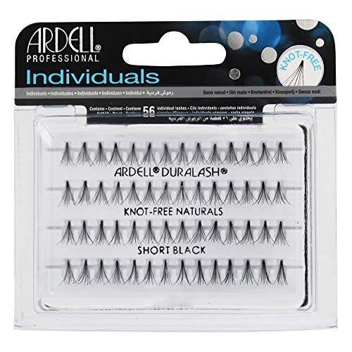 Ardell Duralash Naturals Flare Short Black (56 Lashes) (6 Pack) by Ardell (English Manual)
