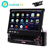 7inch Android 9.0 Capacitive Touchscreen Car Stereo GPS Navigation Quad Core 1GB 16GB Single 1 Din DVD CD...