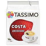 TASSIMO Costa Americano 16 T Discs (Pack of 5, Total 80 T Discs-pods)