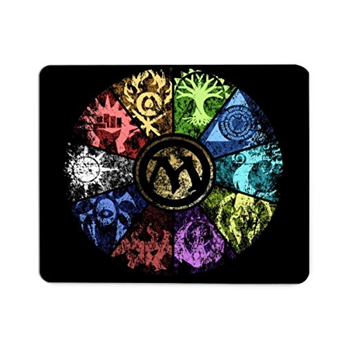 Mouse Pad,Magic The Gathering Faded Durable Non-Slip Rubber Base Gaming Mouse Pad Mat for Computers Laptop PC Office Home Working Studying 8.7x7.1 Inch