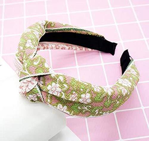 Turbantes para Mujer Diademas Elasticity Cross Hair Bands Turban Striped Headband Floral Hair Band Ladies Hoop Women Hair Accessories 51