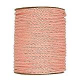 Strickschlauch aus Papiergarn, Rolle à 30 m Apricot