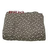 D&J Newborn Baby Photography Photo Props 3D Small Ball Backdrop Beanbag Blanket Rug 59x59inch Acrylic