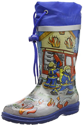Beck Fire, Botas de Agua Niños, Multicolor (Multicolor 50), 31 EU