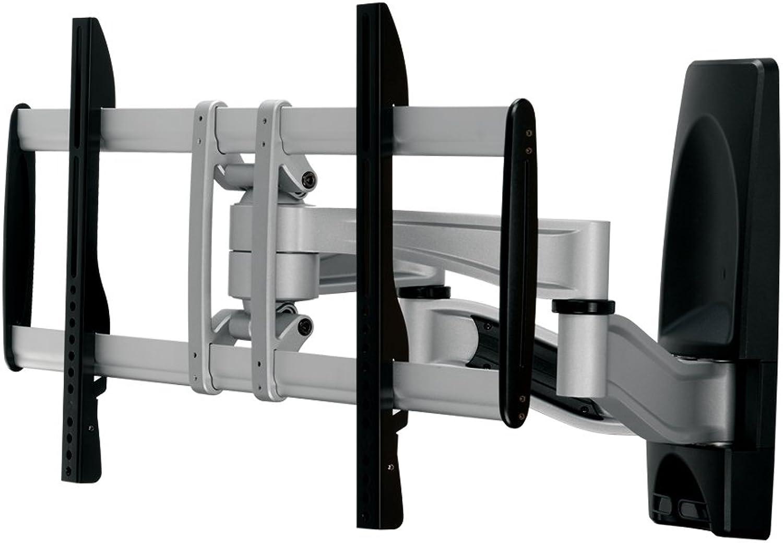 PureMounts PLATINUM-65 Wandhalterung für TV Gerte mit 81-165cm (32-65 ), VESA  600x400, neigbar  + -15°, schwenkbar  + -60°, Wandabstand  105-550mm, Traglast max   50kg, schwarz