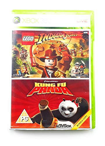 Kung Fu Panda + Lego Indiana Jones Bundle