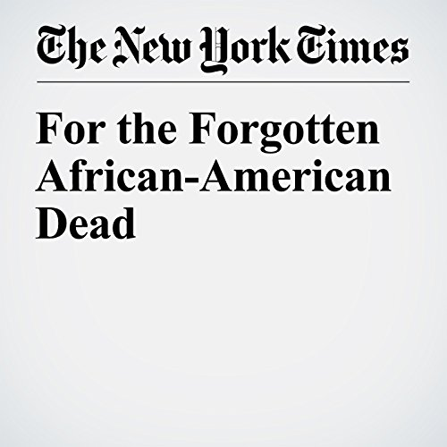 For the Forgotten African-American Dead copertina