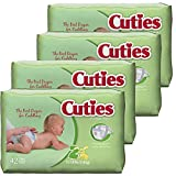 Cuties Baby Diapers, Size 2, 168 Count