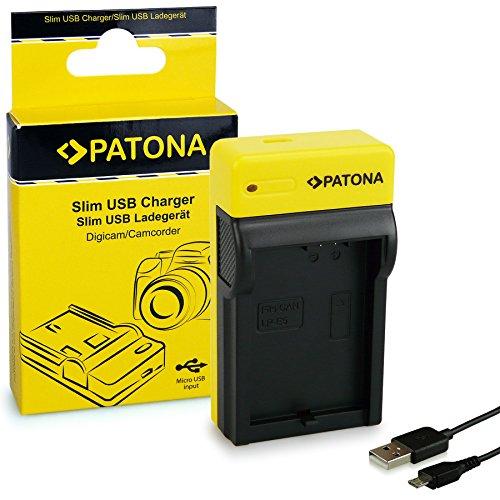 PATONA Estrecho Cargador para LP-E5 Baterías Compatible con Canon EOS 450D 500D 1000D Rebel XS