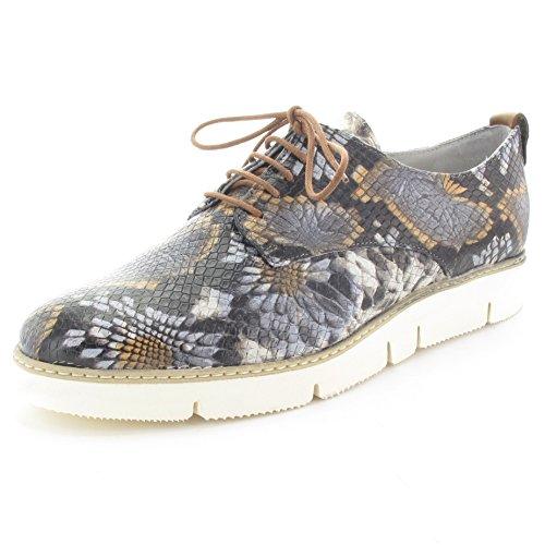 MARIPE 19002-132568 Sneaker mit markanter Gummisohle - Phantasiedruck bunt - Made in Italy