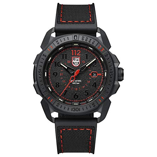 Luminox Men's Wrist Watch Ice-SAR Arctic 1002: 46mm Stainless Steel Case Black Display 200 M Water Resistant