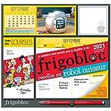 Frigobloc Robot-Cuiseur 2021 - Calendrier d'organisation familiale (de sept. 2020 à décembre 2021)