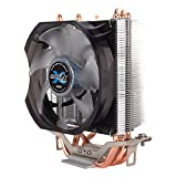 Zalman Silent CPU Cooler with Direct Touch Heat-Pipe Base CNPS7X LED+ [並行輸入品]