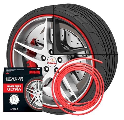 NUEVO - Rimblades con 3M pegamento - Singlepack - color: rojo - protección de la llanta e styling por les llantas de aluminio a 22''