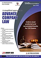 Aj publication CS Professional Advance Company Law And Practice Old Syllabus By Anoop Jain Applicable for June 2021 Exam
