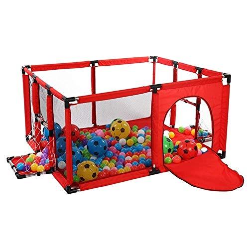 Playpens Bébé clôture Enfant Jouer Cour Facile Fold intérieur Enfants Aire de Jeux Aire de Jeux Portable for Tout-Petits bébés Enfants