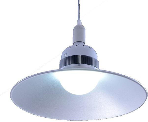 Betriebslichter LED-Grubenlampe 30W 50W Glühbirne Fabrik Werkstatthalle Supermarkt Lagerlicht -Beleuchtungslampe kann Kleidung Licht (Taille  15  29,5 cm)